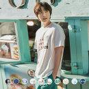 지오다노 099515 코튼 그래픽 반팔 티셔츠(20수)