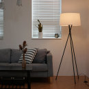트리니티 장스탠드 (화이트) + LED램프 전구색