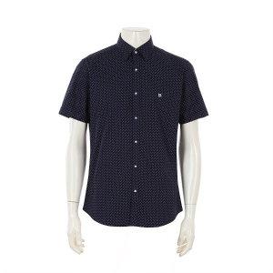 루이까또즈셔츠 반소매 올오버 슬림핏 셔츠 Q9E22C