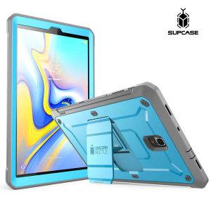 Supcase 갤럭시탭A 10.5 케이스 태블릿 스탠드 블루