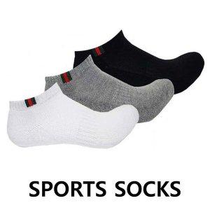 삼선 발목 이중바닥 스포츠양말 두꺼운 쿠션 양말