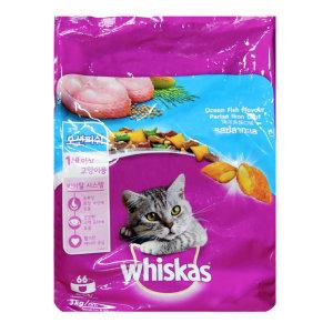 위스카스 어덜트 3kg (오션피쉬)