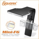 아쿠아렉스 F6 LED 걸이식조명 블랙 (블루웨이브)