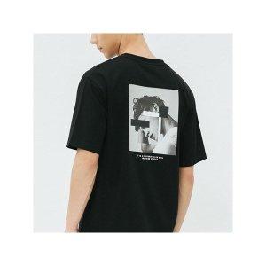 남성 루즈핏 포토 아트워크 티셔츠(30221-031-493-69)