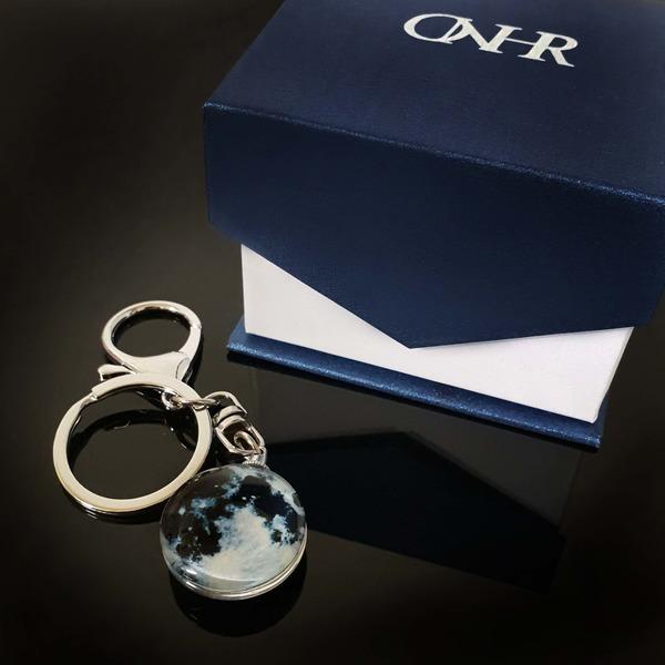 특별한 야광 키링 럭키문 키홀더 열쇠고리 커플 선물
