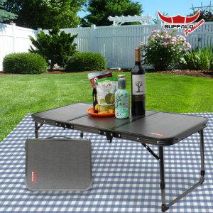 버팔로 프리미엄 3폴딩 미니 티탄 캠핑 테이블