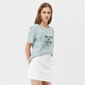 (현대백화점)시슬리 (SISLEY) 레이스 자수 티셔츠 (SATS39931)