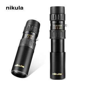 NIKULA 단망경 망원경 고배율 휴대용 만원경 30배율