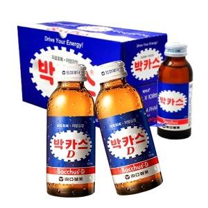 동아) 박카스D 100ml x 100병 피로회복 자양강장