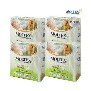몰텍스 네이처기저귀 미디 3단계 1BOX(136매)/4-9kg(갤러리아)