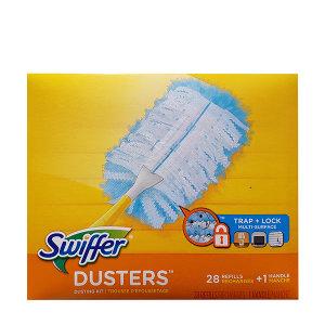 SWIFFER 스위퍼 먼지청소포 (핸들+청소포28매)