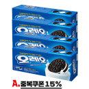 오레오  쿠키 화이트크림 300g 4개/중복쿠폰 15%