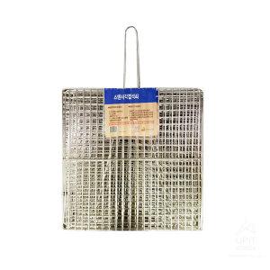 스텐겹석쇠 대_0481 석쇠판 바비큐용품 접석쇠 석쇄