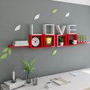 LOVE 인테리어선반/인테리어 원목 벽걸이선반 벽선반
