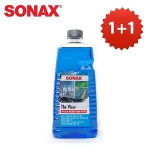 무료배송 1+1 소낙스 에탄올 워셔액 더뷰-2L+사은품