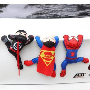 자동차  스파이더맨  슈퍼맨 닌자 차량용 액세서리