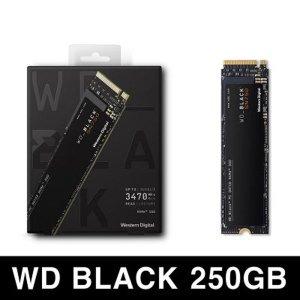 3D Black SN750 NVMe SSD M.2 2280 250GB / WD