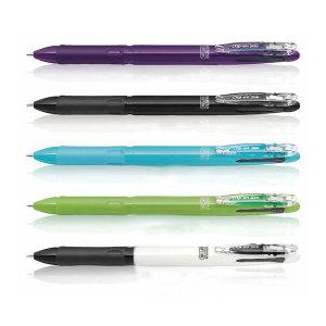 제브라 클립온 슬림 소프트 3색볼펜 0.7mm 삼색펜