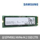 PM981 NVMe M.2 SSD2TB 데스크탑 노트북 2테라 A/S 3년