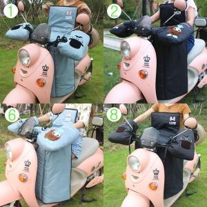 스쿠터 담요 오토바이방한 방수 장갑 바람막이 라이더