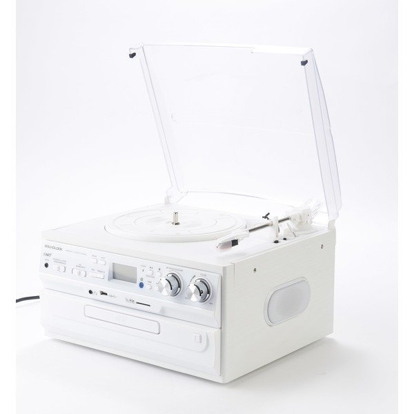 SLT-300W LP턴테이블 CD USB 라디오