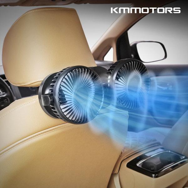 3단 트윈 차량용 선풍기/카팬 장착키트 사은품 증정