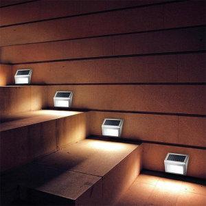 LED 벽면 솔라이트 태양광 조명 센서 동작감지 정원등