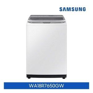 화이트 18KG  삼성 액티브워시 세탁기 화이트 18kg  WA18R7650GW