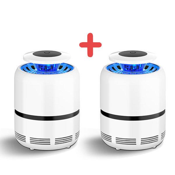 KC인증 LED 모기트랩 USB 모기퇴치기 포집기 1+1버그몬