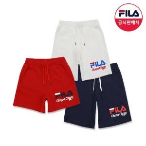 FILA X 츄파춥스 (공용) 숏츠 3종 (FS2TRA2C01X_3SKU)