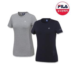 (여) 퍼포먼스 트레이닝 티셔츠 2종 (F2FTYP41F_2SKU)