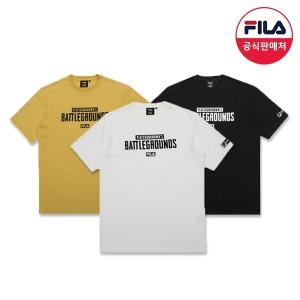 FILA X 배틀그라운드 티셔츠 3종 (FS2RSA2G02X_3SKU)