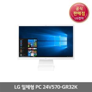 LG전자 일체형PC 24V570-GR32K 램4GB+M2.SSD128GB