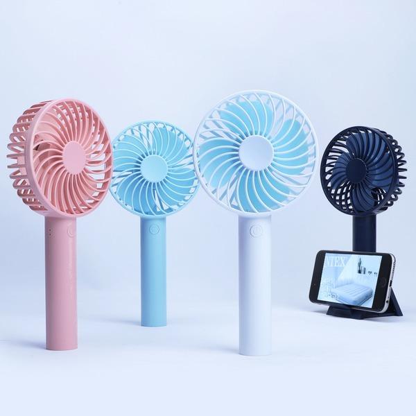 휴대용 선풍기 미니 핸디 탁상용 KHF-001(네이비)