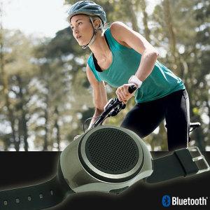 손목 시계형 블루투스스피커 스포츠 자전거 여행 블랙