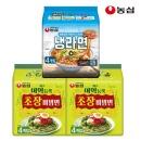 농심 미역듬뿍초장비빔면8봉+냉라면4봉(총12개)