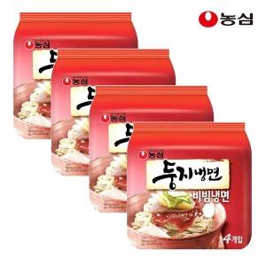 농심 둥지냉면 비빔냉면 멀티4개 (총16개)
