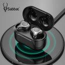 Sabbat E12 TWS 블루투스 5.0 완전무선 이어폰 블랙