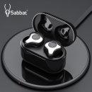Sabbat E12 TWS 블루투스 5.0 완전무선 이어폰 실버