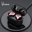 Sabbat E12 TWS 블루투스 5.0 완전무선 이어폰 레드