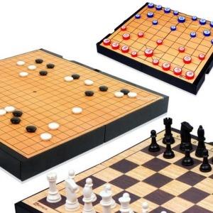 체스 바둑 장기 양면게임판 6개중택일