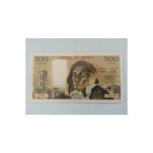 프랑스(1983) - 500프랑 - 파스칼