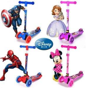 디즈니 LED 어린이퀵보드 5살남자아이선물 싱싱카 MK