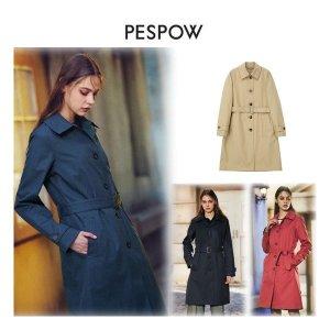 페스포우  여성 리몬타 발수 싱글 트렌치 코트 (Marilyn Coat)