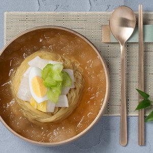 스가홍 흰찰쌀보리 물냉면 10인분세트