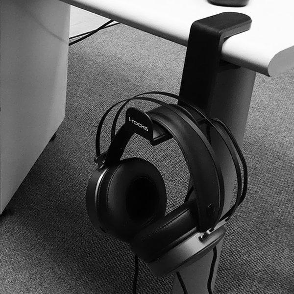 아이락스 IRC82W 헤드폰 거치대 헤드셋 걸이