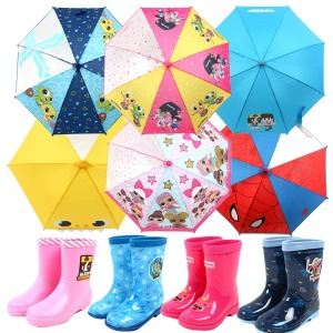 1+1특가 아동 유아 우산 어린이 장화 우비 캐릭터