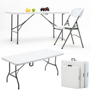 브로몰딩 접이식 테이블 행사매대 야외캠핑테이블1800