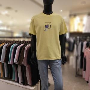 대구백화점 II관   NII 등판전사 그래픽 라운드 반팔 티셔츠(NNXARVM6306)