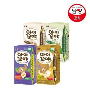 아이꼬야 베이비주스 신제품4종 아기주스 맛선택
